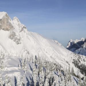 Skitouren für Anfänger im Gesäuse mit Bergführer