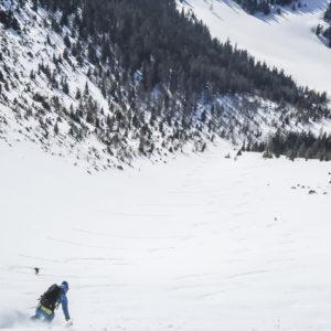 Skitouren im Gesäuse mit Bergführer - Lugauer