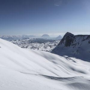 Scheichenspitze - Einsame Skitouren am Dachstein mit deinem Bergführer
