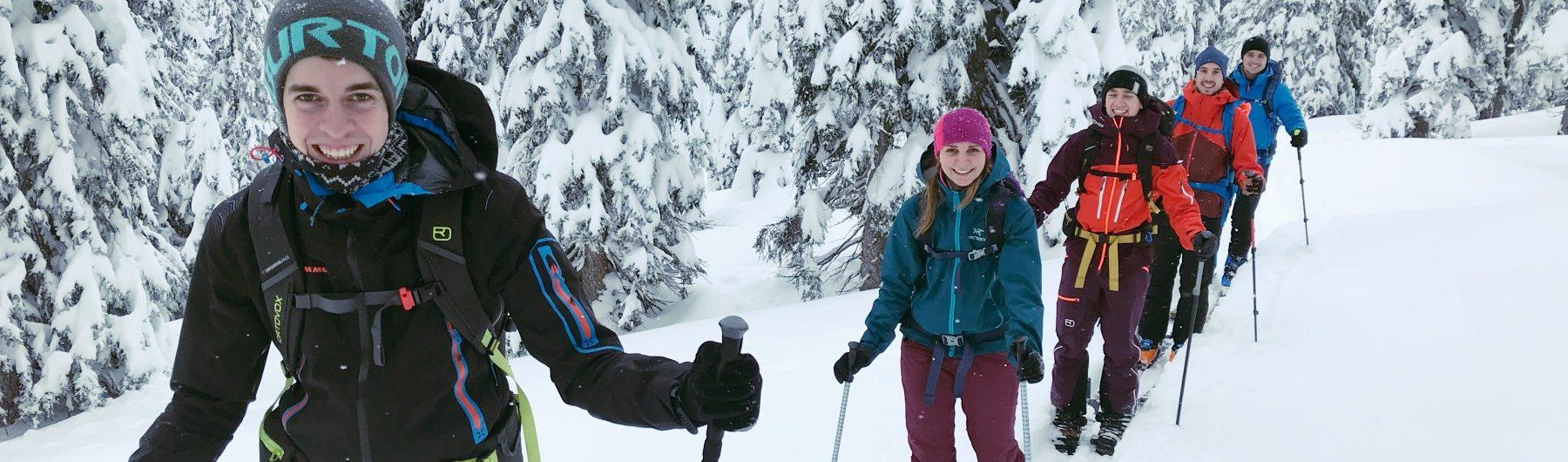 Einsteiger Skitouren auf der Planneralm