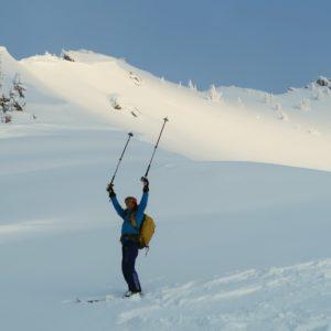 Perfektes Skitouren-Gelände im Donnersbachtal