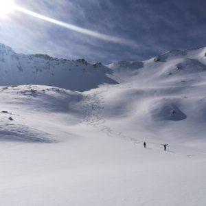 Piz Sesvenna skitour.