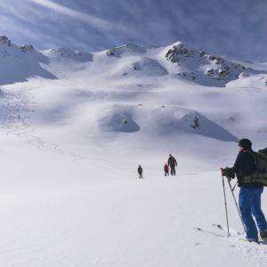 Skihochtouren in Südtirol.