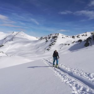 Skitour Piz Sesvenna in Südtirl.