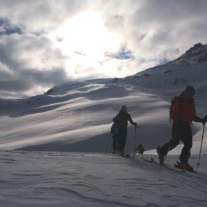 Skitouren mit Bergführer in der Sesvennagruppe