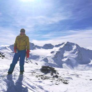 Piz Sesvenna, Skitour mit Bergführer