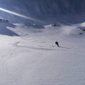 Skitpuren mit Bergführer in Südtirol
