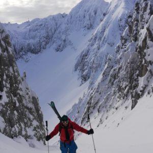 No pain no gain! Skifahren im Karwendel