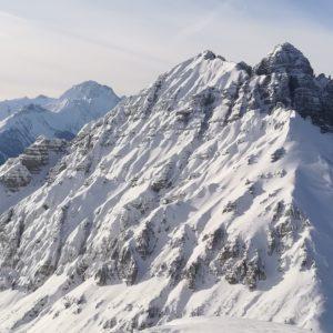 Ausblick vom Aufstieg auf die Nockspitze