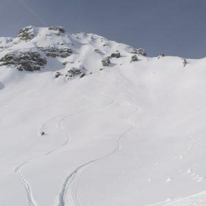 rassige Skitour mit Bergührer in der Axamer Lizum