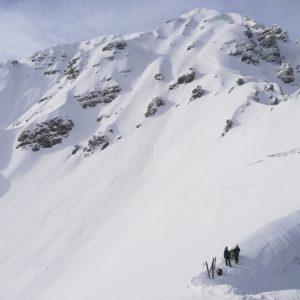 Skitour auf Nockspitze mit Bergführer