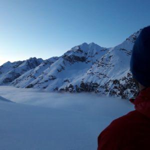 Die Stille im Karwendel ist atemberaubend
