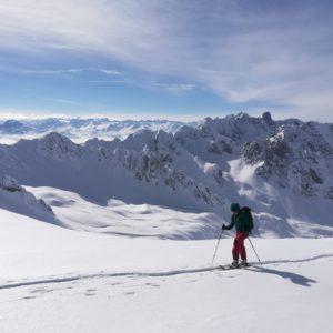 Skitour im tiroler Karwendel