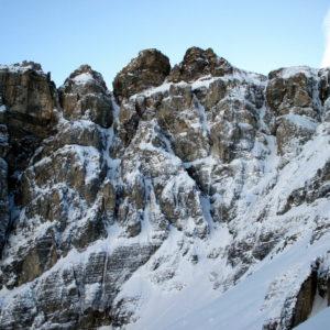 Nordwand des Obernberger Tribulauns