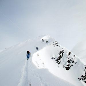 Skitour in der Brenner Region.