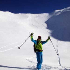 Skitourengeher in Obernberg
