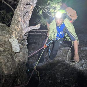 nächtlicher Abstieg vom hechenberg